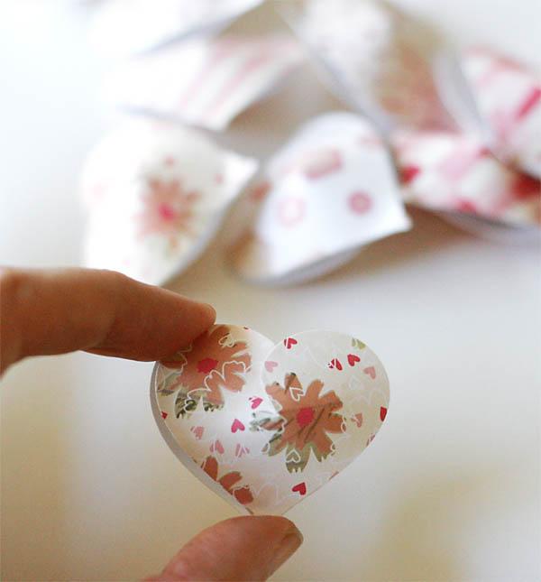 DIY Handmade Valentine Hearts