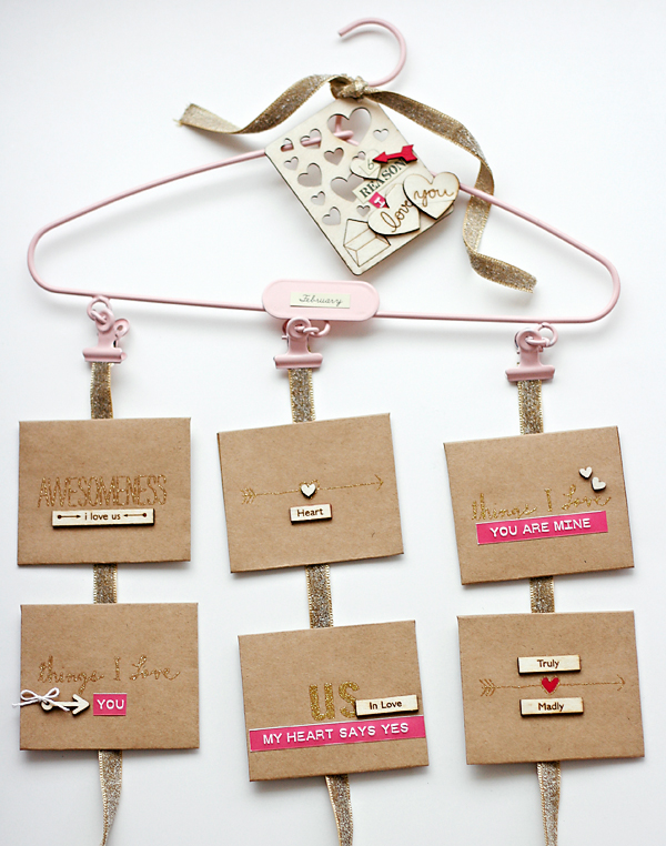 Pink project hanger by Cosmo Cricket