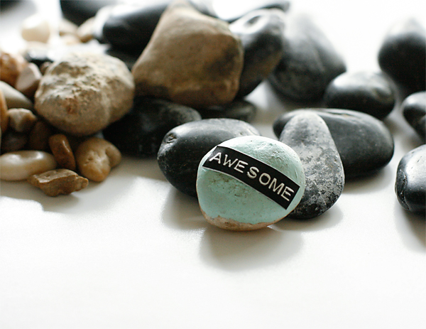 Make a personality rock