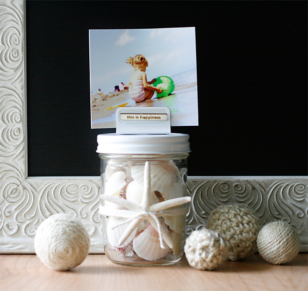 Beach Keepsake Jar
