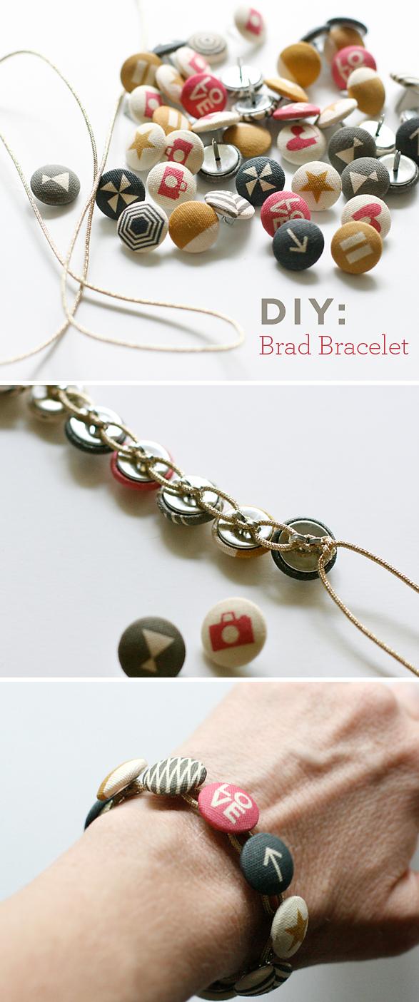 DIY Brad Bracelet | Cosmo Cricket