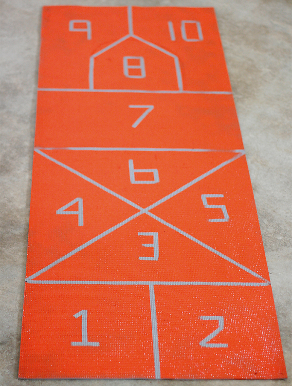 Painting Yoga Mat