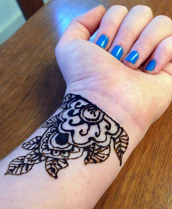 Abby's Wrist Hennah