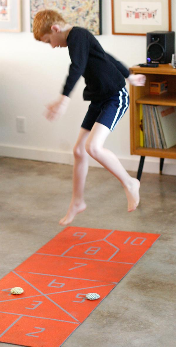 Jumping Hopscotch