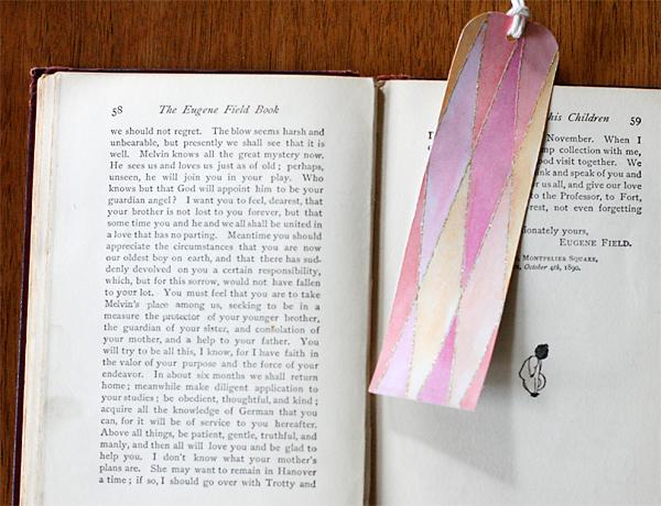 DIY Teen Bookmarks