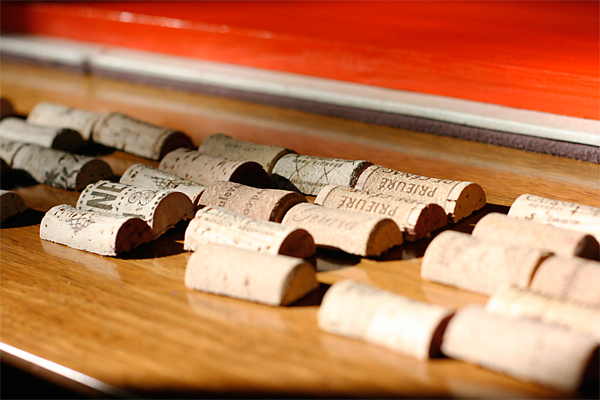 Splitting Wine Corks for Crafts