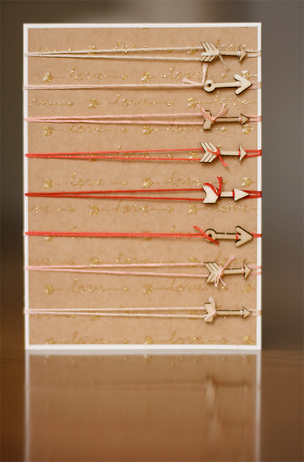 Love This Wooden Card Tutorial