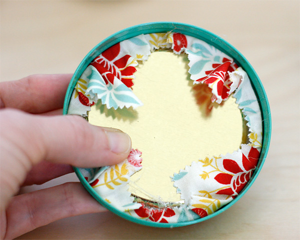 No Sew Pincushion Jar Lid