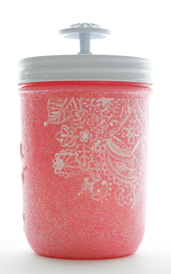 Indian Princess Mason Jar