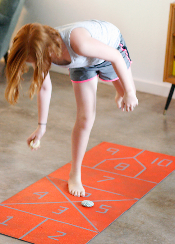 Teaching kids balance and coordination
