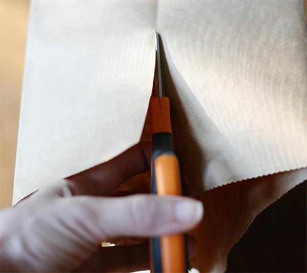Cutting bag