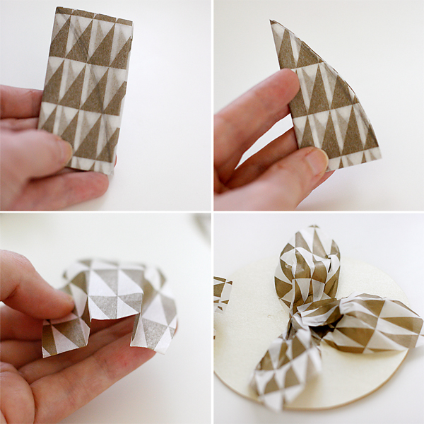 How to make tissue paper flower