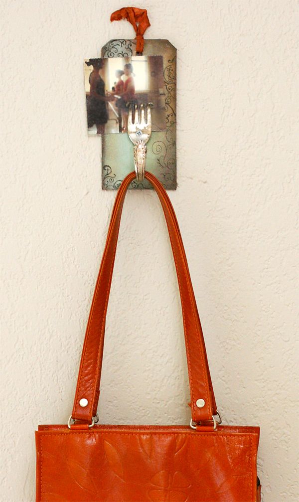 Vintage Bent Fork Hook DIY
