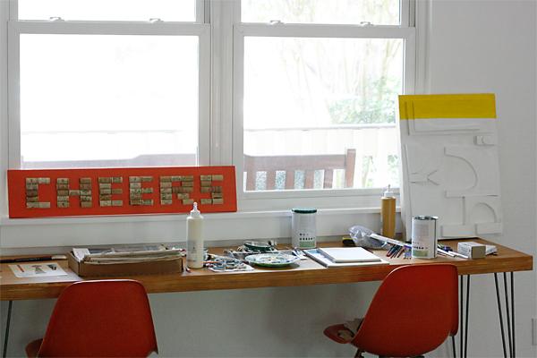 Eric's Paint Desk