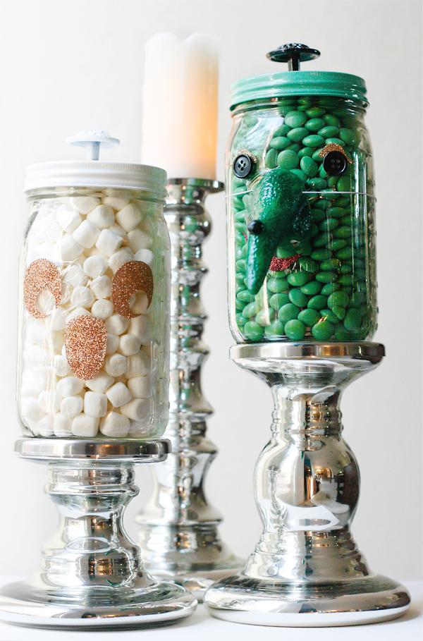 Halloween Mason Jars | Cosmo Cricket