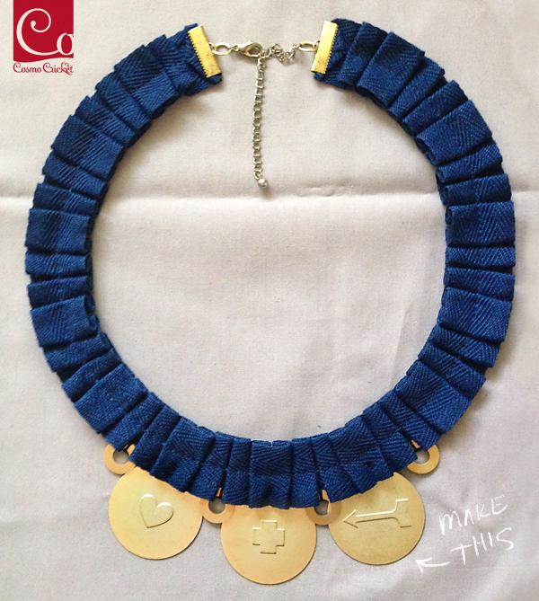 Pleated Collar DIY